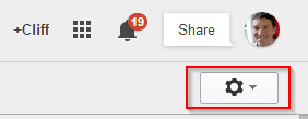 Step 7 Gmail Settings Icon