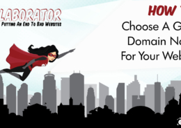 How To Choose A Great Domain Name For Your Website