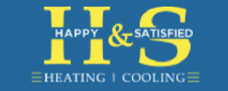 H&S Heating & Air Conditioning Logo