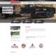 Custom WordPress website design for Midsota Manufacturing, Inc. home page in Avon, MN