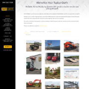 Custom Trustdyx website design for 360 RENTS, Inc home page in Waite Park, MN
