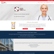 Custom Trustdyx website design for Cardiac Registry Support home page in St. Cloud, MN