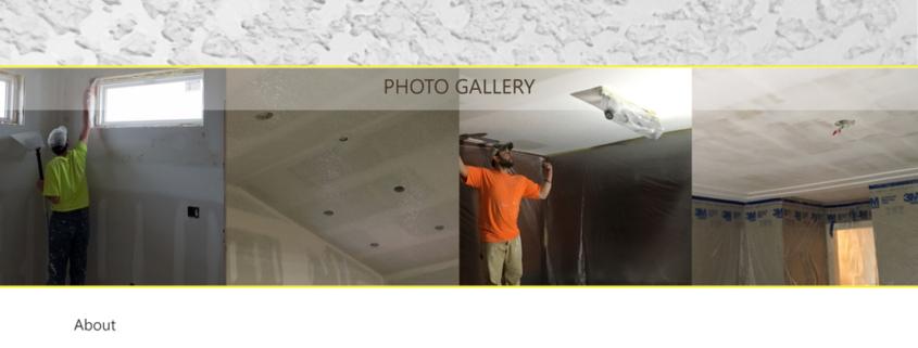 Custom Trustdyx website design for JDC Spray & Drywall home page in Elk River, MN