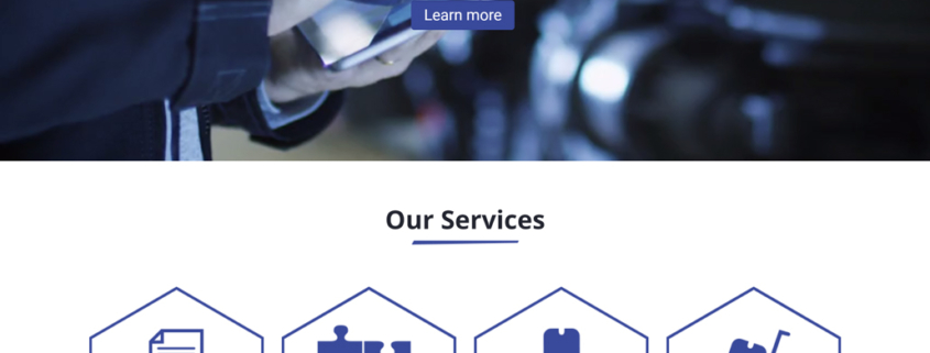 Custom Trustdyx website design for Kloster Collateral Resources home page in St. Cloud, MN