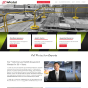 Custom Trustdyx website design for TC Safety Rail home page in Plymouth, MN